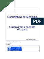 Organigrama 6 curso