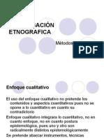 5 TECNICAS Y METODOS etnografia.ppt