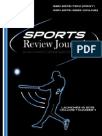 The Sports Review Journal Sample