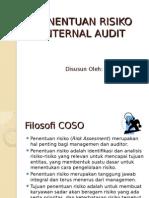 Penentuan Risiko Audit