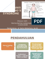PPT Referat - Patomekanisme Cushing's Syndrome Nisrina KL