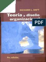 Teoria y Diseño Org.
