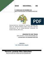 Proyecto de Tesis Yany 2015