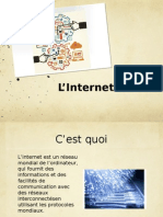 presentation de linternet