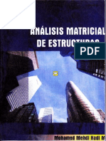 Analisis Matricial de Estructuras-Mohamed Mehdi Hadi