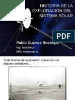 Historia Exploraciones del sistema solar