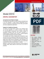 Model 2331D F