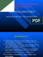 Metodologia de La Investigacion en Proyectos