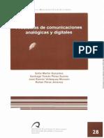 Problemas de comunicaciones an alógicas y digitales - Teoria de la Comunicacion - Sofía, Santiago, Jose Ramón y Rafael
