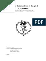 Relatório 2 - Ensaio Curto e Aberto
