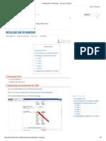 Installing JDK on Windows