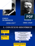 Durkheim e Weber 1 (1)