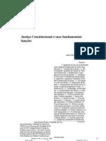 Andre Ramos Tavares - Justiça Constitucional e Suas Fundamentais Funçoes