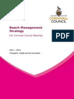 Beach Management Strategy