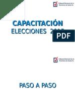 Instructivo - Elecciones Junio 2015 - Santa Fe
