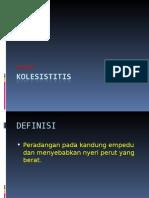 KOLESISTITIS ppt
