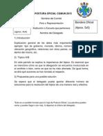Formato Postura Oficial Cgmun 2015
