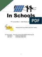 Pv Lesson Plan 2 Solar Electric Arrays