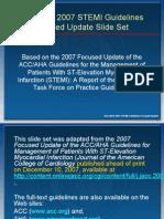 Stemi2007 Focused Update SlideSet