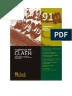 Maria Ines Tato Cuadernos Del CLAEH 91