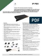 Atizlan IP PBX Datasheet Eng