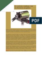 Los Motores de Colplrriente Continua y Sus Aplicaciones en Eficiencia Energética