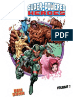 How to Draw Super-Powered Heroes Vol. 1
