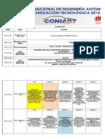 Cronograma Coniadt2015 Fea