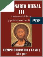 03 Par Leccionario Bienal III Tiempo Ordinario I XVII 1.0