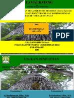 contoh Power point seminar proposal Kehutanan UR