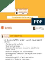 6. Fundamental Analysis