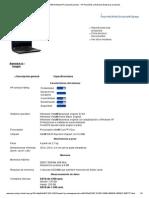HP Compaq 6730b Notebook PCespecificaciones - HP Pequeñas y Medianas Empresas Productos