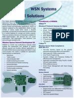 WSN Brochure