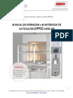 Manual de Uso Autoclave
