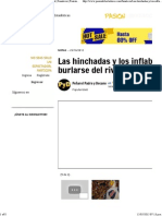 Las Hinchadas y Los Inflables Para Burlarse Del Rival Fanaticos Pasión Libertadores