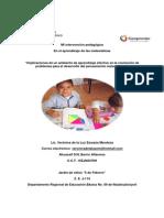 Intervencion Pedagogica en El Aprendizaje de Las Matematicas