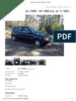 Volkswagen Polo 1998, 141968 km, kr 11500,- -