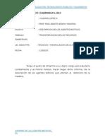 Informe de Los Agentes Biotico