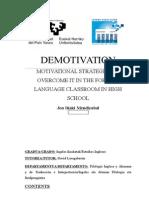 Demotivation in the EFL Classroom