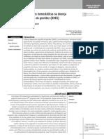 Revisão sobre alterações hemostáticas na doença hipertensiva específica da gravidez - DHEG