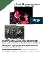 Metal Bulletin Zine 52