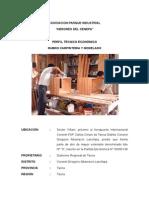 Perfil Tecnico-Económico para una Taller de Carpintería