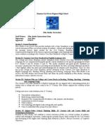 Film Studies Curriculum 2012-2013