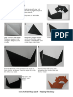 Origami Cat 2 Body Instructions