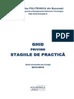 Ghid Practica 2014-2015