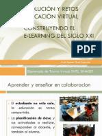evolución y retos de educación virtual
