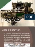TERMODINAMICA CICLO DE BRAYTON