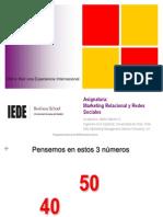 Marketing Relacional y Redes Sociales