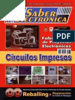Club Saber Electrónica Nro. 83. Circuitos Impresos