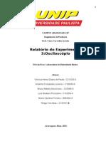Relatório Do Osciloscópio